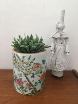 Pot cylindrique émaillé