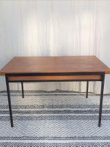 Table à manger Caillette vintage moderniste années 50