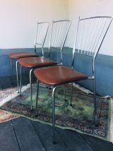 Lot 3 chaises vintage