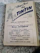 le journal de Tintin. Reliure n°35 de 1958