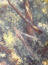 Tableau - Peinture a l'huile originale - Les Pyrénées