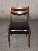 12 chaises scandinaves années 50/60