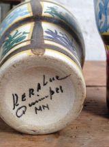 Paire de tasses Keraluc faïence de Quimper