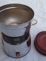 Moulin à café chromè SEB vintage