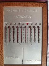 machine a calculer Raymond ,1930