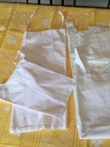 Anciennes chemises coton de nuit