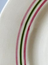 6 assiettes Sarreguemines Armelle