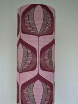 Lampe de sol Lotus Purple vintage 1970s