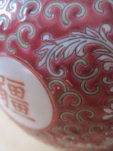 2 pots a thé en porcelaine chinoise