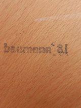 Chaises Baumann bistrot