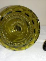 Bouteille / carafe verte  vintage