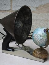 "LAMPE A POSER RECUP' ""EARTH"""