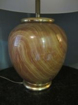 Grande lampe à poser LANCEL, Vintage, années 80'