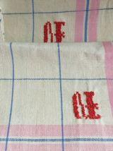 lot 4 torchons vintages neufs initiales