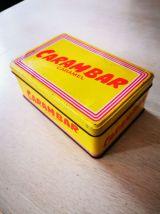 Boîte à sucre en métal carambar vintage