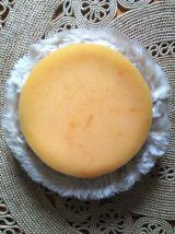 Pouf moumoute beige - Années 70