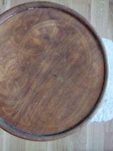 Tabouret haut en bois courbé Kohn