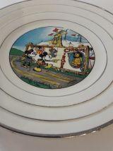 ASSIETTES MICKEY AUTHENTIFIE DISNEY 1930 10 ASSIETTES+ PLAT