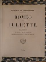 Romeo et Juliette, William Shakespeare, illustré Andriolli