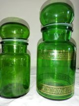 2 Bocaux anciens : apothicaire & vintage