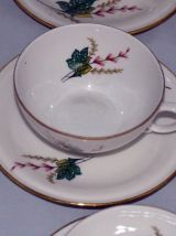 Service à café porcelaine de Châtres-sur-Cher