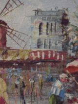 peinture sur panneau  signé magnifique 1900/1910