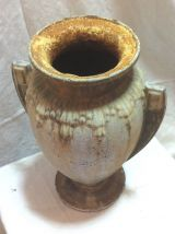 Paire de vases en fonte