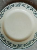 Trois assiettes Récamier