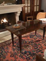 Table basse vintage en palissandre 1950