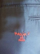 Veste smoking homme Maxim's de Paris