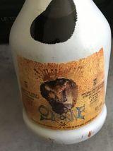 Bouteille brandy signée Dali