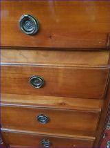 Chiffonnier 5 tiroirs en merisier