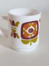 Lot de 1 mug et 1 tasse à café.  Mobil