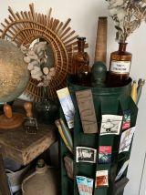 Ancien présentoir tourniquet à sachets de graine