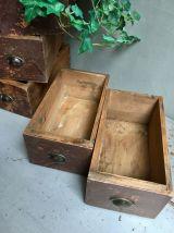 Lot de 2 tiroirs d'atelier