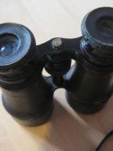 jumelle  ancienne  dans sa boit taille fermer 12.50 cm ouver