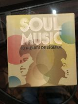 Box 10 albums de légende Soul music