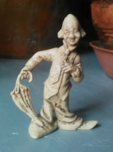 6 figurines clown - Made in Hong Kong - Années 70