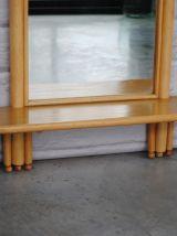 Miroir en bois 1970