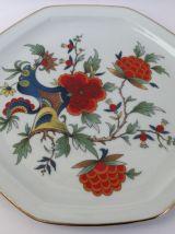 Plat en porcelaine de Limoges
