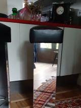 Tabourets vintage miroir lot de 3