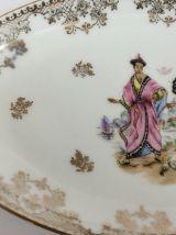 Plat en porcelaine de Limoges NANkIN