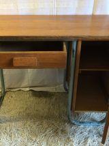 Bureau d'internat bois massif – années 50