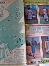 Vintage : Modes de Paris, n°228, 27 avril 1951