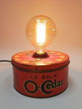 """Lampe vintage, lampe de bureau, lampe de chevet - """"O Cedar"""""""