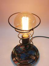 """Lampe de bureau, lampe de chevet, lampe de table """"Montée sur"""