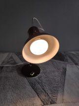 lampe spot vintage marron réglable