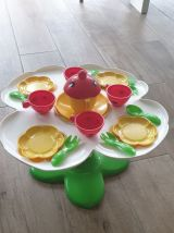 Table de dinette  années 80  Lil'lady party set