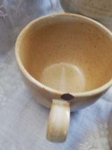 Pichet en grès vintage et ses 6 tasses