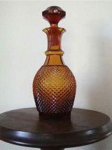 Carafe ambrée années 60